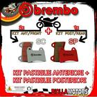 BRPADS-47741 KIT PASTIGLIE FRENO BREMBO VICTORY CROSS COUNTRY TOUR 2012- 1731CC