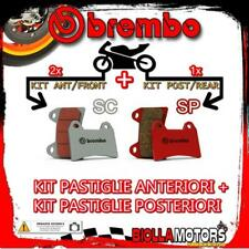 BRPADS-46554 KIT PASTIGLIE FRENO BREMBO BMW R 1150 GS ADVENTURE no abs int 2003-