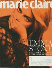 Marie Claire Magazine September 2017 FALL FASHION ISSUE EMMA STONE