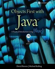 Objects First with Java: A Practical Introduction Using BlueJ (5th Edition)
