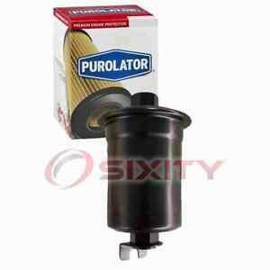Purolator Fuel Filter for 1993-1994 Plymouth Colt Gas Pump Line Air Delivery vm
