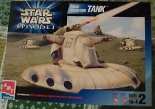 NIB Vintage 1999 Star Wars Episode 1 Trade Federation Tank Model Building Kit
