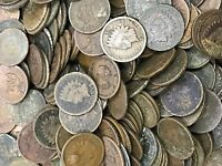1859-1909 Indian Head Cents ( Six Average Circulated Cull )