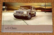 2008 MERCEDES BENZ G-CLASS Hardback Sales Brochure inc G55 AMG - New OId Stock!!