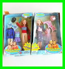 RARE 1999 Mary-Kate and Ashley Olsen Pajama Party Barbie Dolls Mattel Vintage