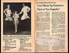 1969 TV ARTICLE~JOANIE SOMMERS~ICE CAPADES~Maria & Otto Jelinek Ice Skaters