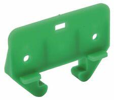 Anvil Mark 901023 Plastic Kitchen Drawer Rear Glide 1-1/18 In. Wood Rails Green