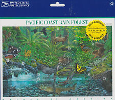 Nature In America USPS Stamps Sheet MNH Scott 3378 Pacific Rain Forest PKG 10x33