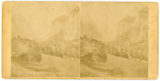 Stereo, Suisse, Lauterbrunnen et le Staubbach Vintage stereo card -  Tirage al