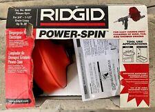 Ridgid Power Spin Drain Cleaner