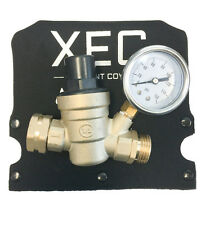 XEC Brand Brass Adjustable Water Pressure Regulator for RV with Freeze cover