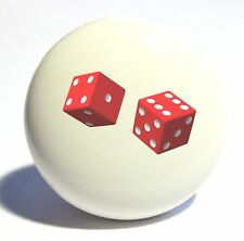 Two Red Dice Home Decor Ceramic Kitchen Knob Drawer Cabinet Pull