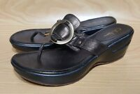 Cole Haan Womens Mules Wedge Slip On Shoes 7.5 M