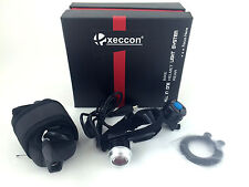 Xeccon 150 Lumen Bright Micro Red Tail Bike Light - Samsung Battery 140m Visible