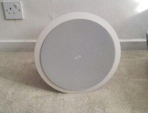 Tannoy TANCVS6 980014240 Full bandwidth blind mount ceiling speaker system Black