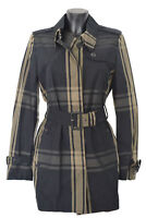 Trench Giacca Giubbotto Aquascutum London Donna Women Jennifer SB Rainwear Nero