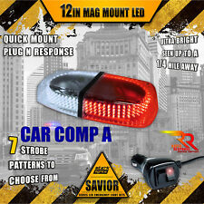 240 Led Light Bar Roof Top Emergency Strobe Dual Rapid Switch - White / Red (A)(Fits: Neon)