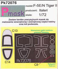F-5 E/N TIGER II PAINTING MASK TO ITALERI KIT #72076 1/72 PMASK