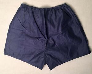 Russian USSR Soviet blue army vintage marine naval underwear boxer shorts