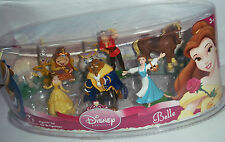 Disney Princess 8 Pieces Beauty and The Beast (Belle) Figurine Set