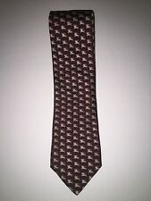 Burberry London Men's Tie With Classic Burberry Design, Approx. 28 inches