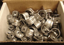 "MINERALLAC 245 TWO-HOLE STRAP EMT CONDUIT 3/4"" (BOX OF 95) ***NIB***"