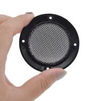 1 pair 3 Inch Speaker Cover Grill Audio Protective Hood Case Metal Mesh Parts