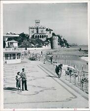 1959 Estoril Hub of Portuguese Riviera Original News Service Photo