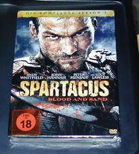 SPARTACUS BLOOD AND SAND DIE KOMPETTE SEASON 1 STEELBOOK GEPRÄGT DVD  NEU & OVP