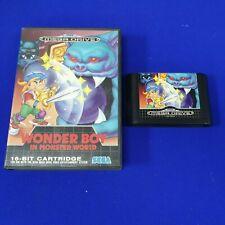 *Mega Drive WONDER BOY IN MONSTER WORLD (NI) *Works on Genesis* PAL REGION FREE
