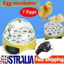 7 Egg Incubator Fully Automatic Digita Turning Chicken Duck Eggs Poultry Hatcher
