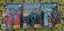3x lot Spawn Series 1 Unmasked Hamburger Head Variant & Medevil Spawn Figurine