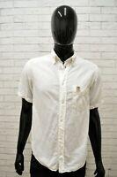 Camicia in Lino Uomo MURPHY & NYE Taglia S Maglia Shirt Man Cotone Manica Corta