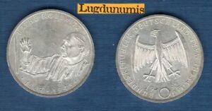 Germany – 10 Mark 1992 G Käthe Kollwitz Artist And Sculptor Sup Silver