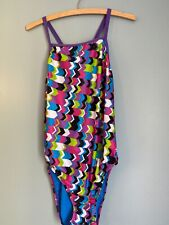 Speedo Size 40 Or Size 14 Polyester Race Swimsuit