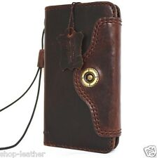 genuine vintage leather Case for apple iphone 6s book wallet cover luxury 6 s de