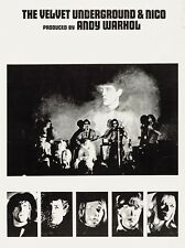 "VELVET UNDERGROUND / NICO 16"" x 12"" Reproduction PROMO Poster Photo"
