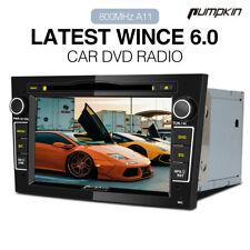 "Pumpkin 7""Autoradio DVD CD 2 Din GPS Navi BT USB RDS Für Opel Corsa Astra Vectra"