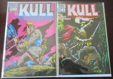 Kull 2nd series set from:#1 + #2 9.0 NM (1982)