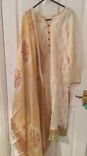 Faraz Manan Cresent embroidered - Genuine 3 pcs Stitched Suit Brand New