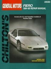 GM Fiero, 1984-88 Chilton Total Car Care Series Manuals