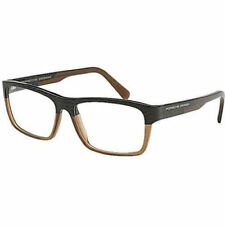 47ecbccf0cd NEW Porsche Design P8190 L 56mm Black Brown Optical Eyeglasses Frames