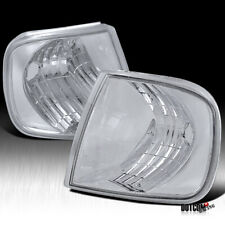 Euro Chrome Corner Lights Turn Signal Lamps For 1997-2004 F150 / 97-02
