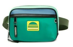 Marc Jacobs Sport Belt Bag Fanny Pack Pouch in MINT Green / Blue