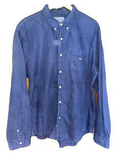 Ralph Lauren Denim and Supply Shirt Y2K Vintage Mens XXL