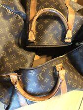 7f606b6617 Originale Louis Vuitton Borsa Boston Borsone 60 M41422 Marrone Monogramma  303175