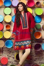 Khaadi Latest Pakistani Pret Eastern Short Kurta & Cigarette Pants