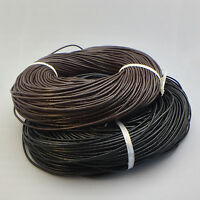 Wholesale Genuine Leather Cord Thread for DIY Bracelet Necklace Jewelry Making