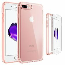 Apple iPhone X 8 7 Plus Shockproof 360° Full Body Front Protective Case Cover