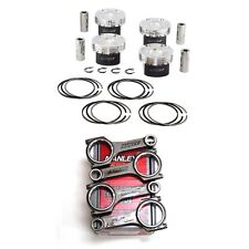 MANLEY PISTONS+H-BEAM RODS FOR FORD ECOBOOST 2.0 87.5mm 9.3:1 FOCUS ST